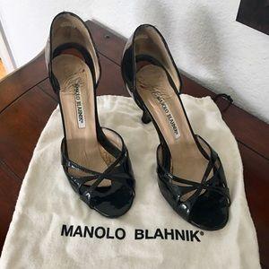 Black Manolo Blahnik